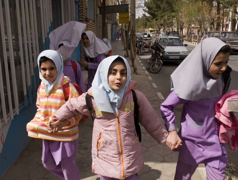 30 Beautiful Pictures Of Girls Going To School Around The World - Iran