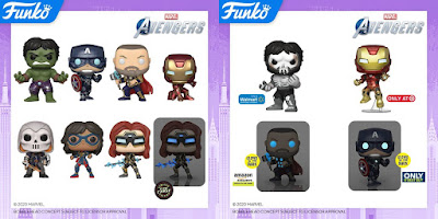 Marvel's Avengers Video Game Pop! Vinyl Figures by Funko