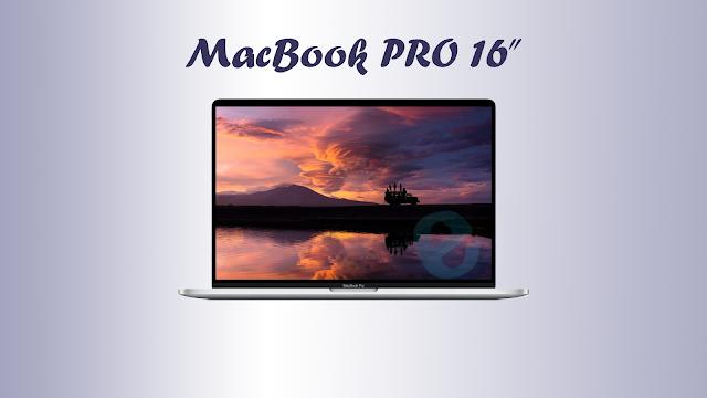 Spesifikasi dan harga MacBook PRO 16 inch 2020