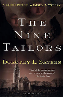 book cover of The Nine Tailors by Dorothy L. Sayers