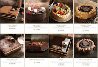 Daftar Harga Kue The Harvest Cake Februari 2018