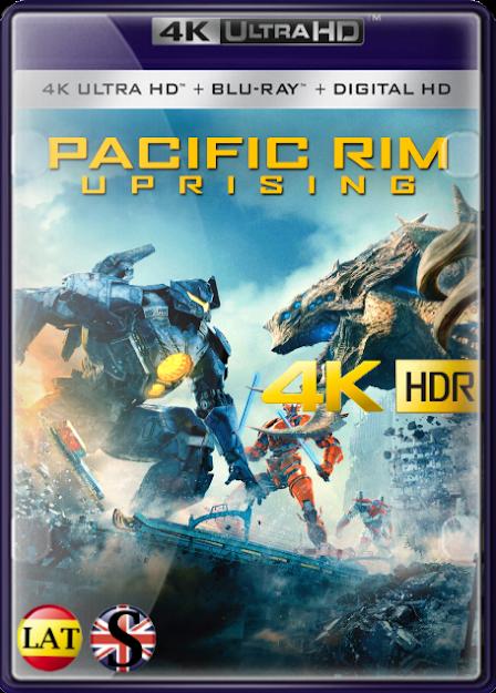 Titanes del Pacífico: La Insurrección (2018) 4K UHD HDR LATINO/INGLES