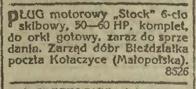 Kołaczyce 1922