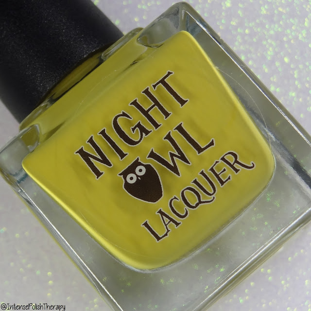 Night Owl Lacquer It Mustard Been Love   September 2019 COTM
