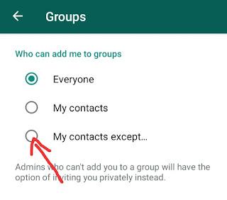 किसी भी व्हाट्सएप ग्रुप पर ऐड होने से कैसे बचे