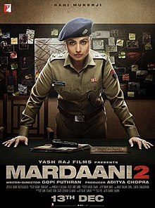 Mardaani 2 (2019 film) Hindi Full Movie DVDrip Download Kickass
