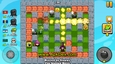 Bomber Friends Mod Apk Unlimited Money Terbaru