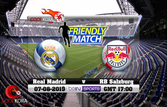 مشاهدة مباراة ريال مدريد وسالزبورغ اليوم 7-8-2019 في مباراة ودية