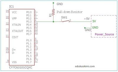Penjelasan Resistor Pull Up dan Resistor Pull down