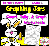 Graphing Jars to count, tally and graph