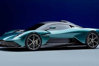Já conhece o carro do novo filme do espião 007? é o Aston Martin Valhalla