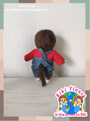 kiki monchhichi vêtement doll handmade