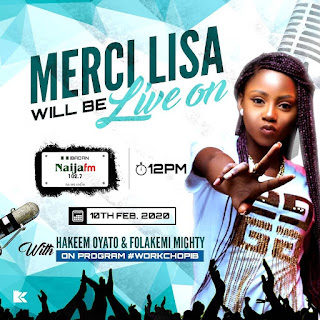GX GOSSIP: MERCI LISA MADE THE ROUNDS TO RADIO STATIONS ALL OVER IBADAN CITY