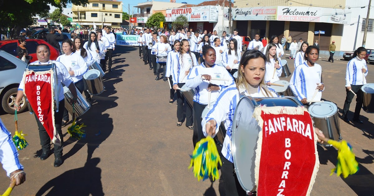 Resultado de imagem para desfile civico borrazopolis