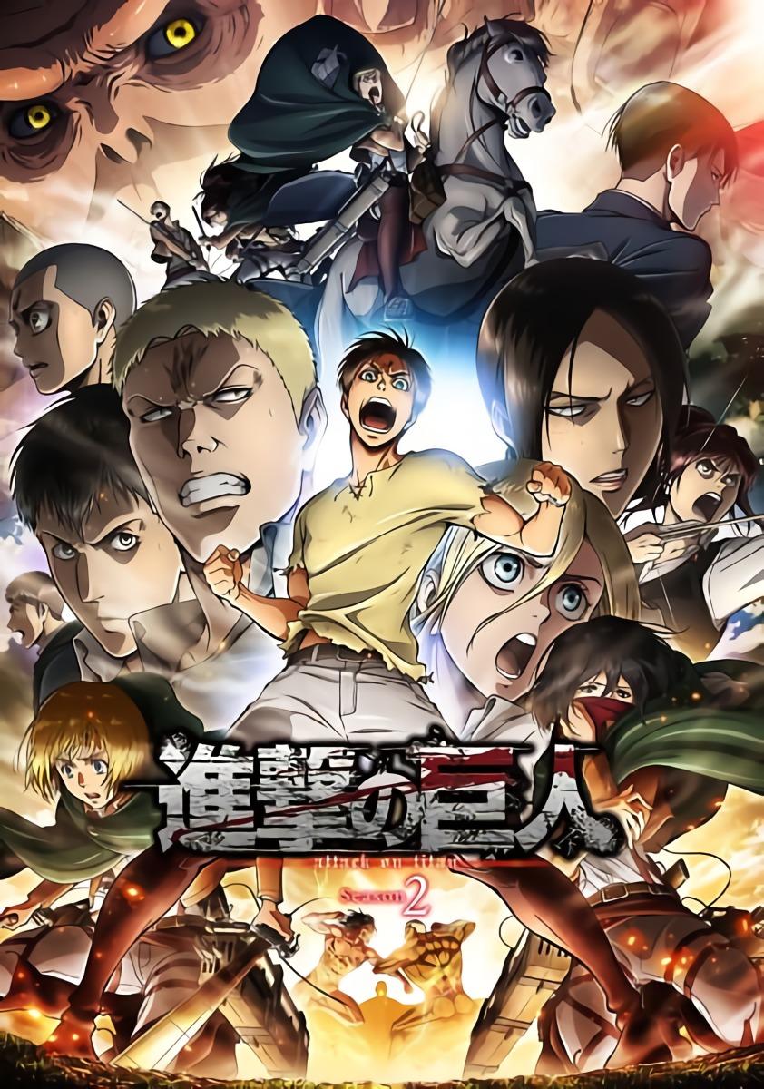Shingeki no Kyojin S2 BD Batch Subtitle Indonesia [x265]