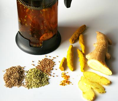 ajurwedyjska herbatka na trawienie