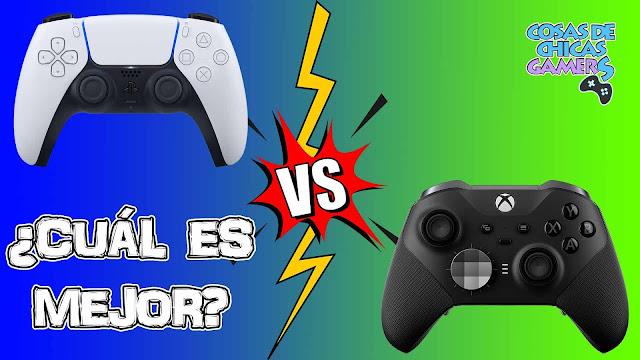Comparativa DualSense de PS5 y Xbox Controller Elite Series 2