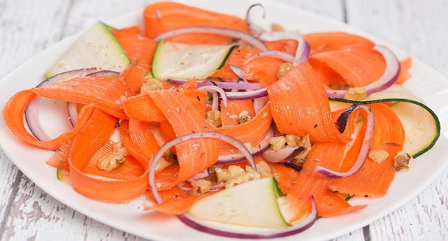 Havuç Ve Kabak Salatası-www.viphanimlar.com