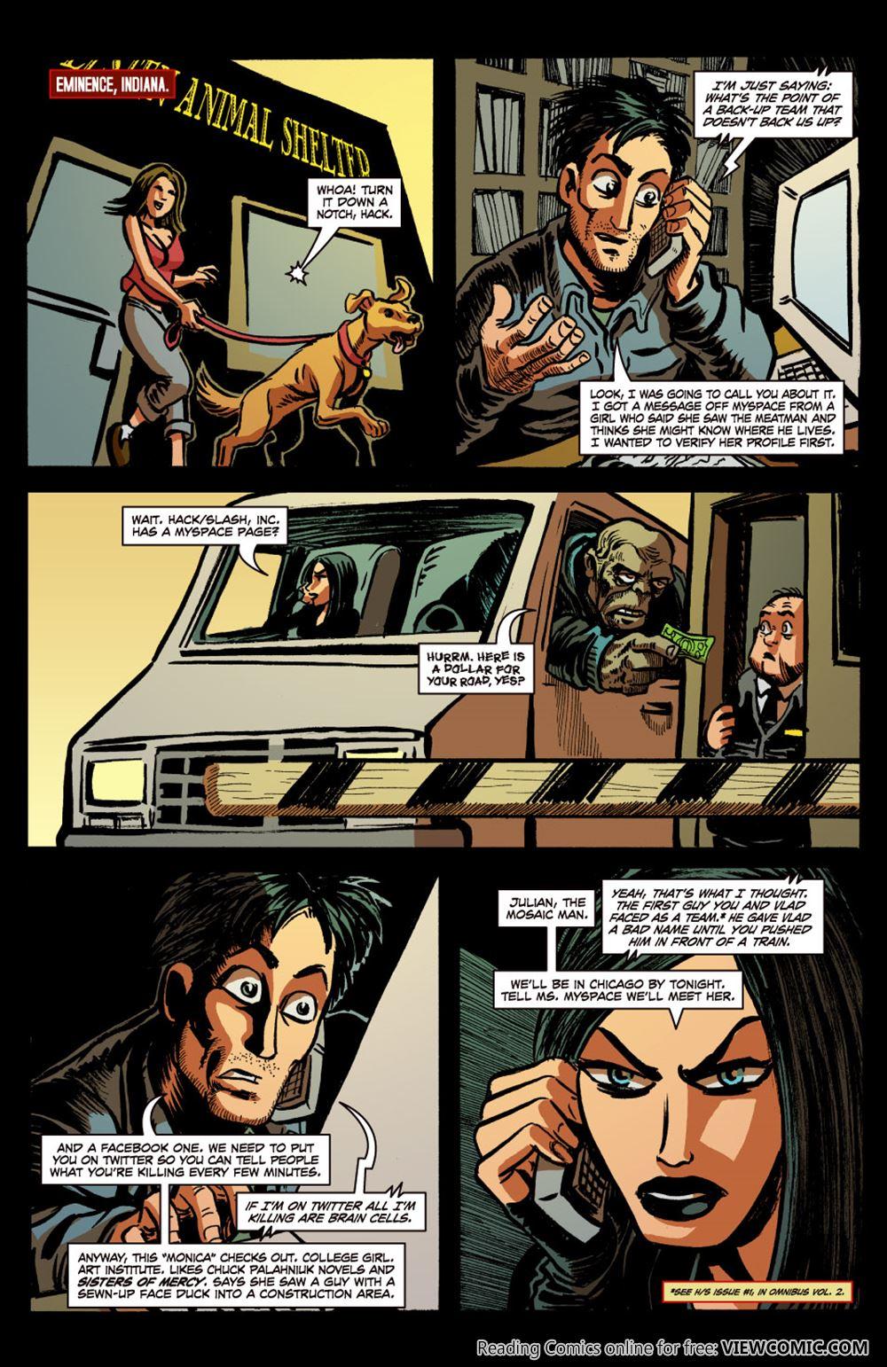 Hack-Slash – The Series 026 (2009) | Viewcomic reading
