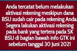Tak Semua Guru Honorer dapat BSU Juni 2021, Tinggal 9 Hari Lagi, Cek Nama di info.gtk