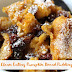 Clean Eating Pumpkin Bread Pudding