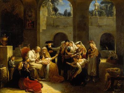 Le Jeu de la main chaude (1812), Antoinette Haudebourt-Lescot