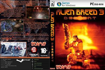 Jogo Alien Breed 3 - Descent PC DVD Capa