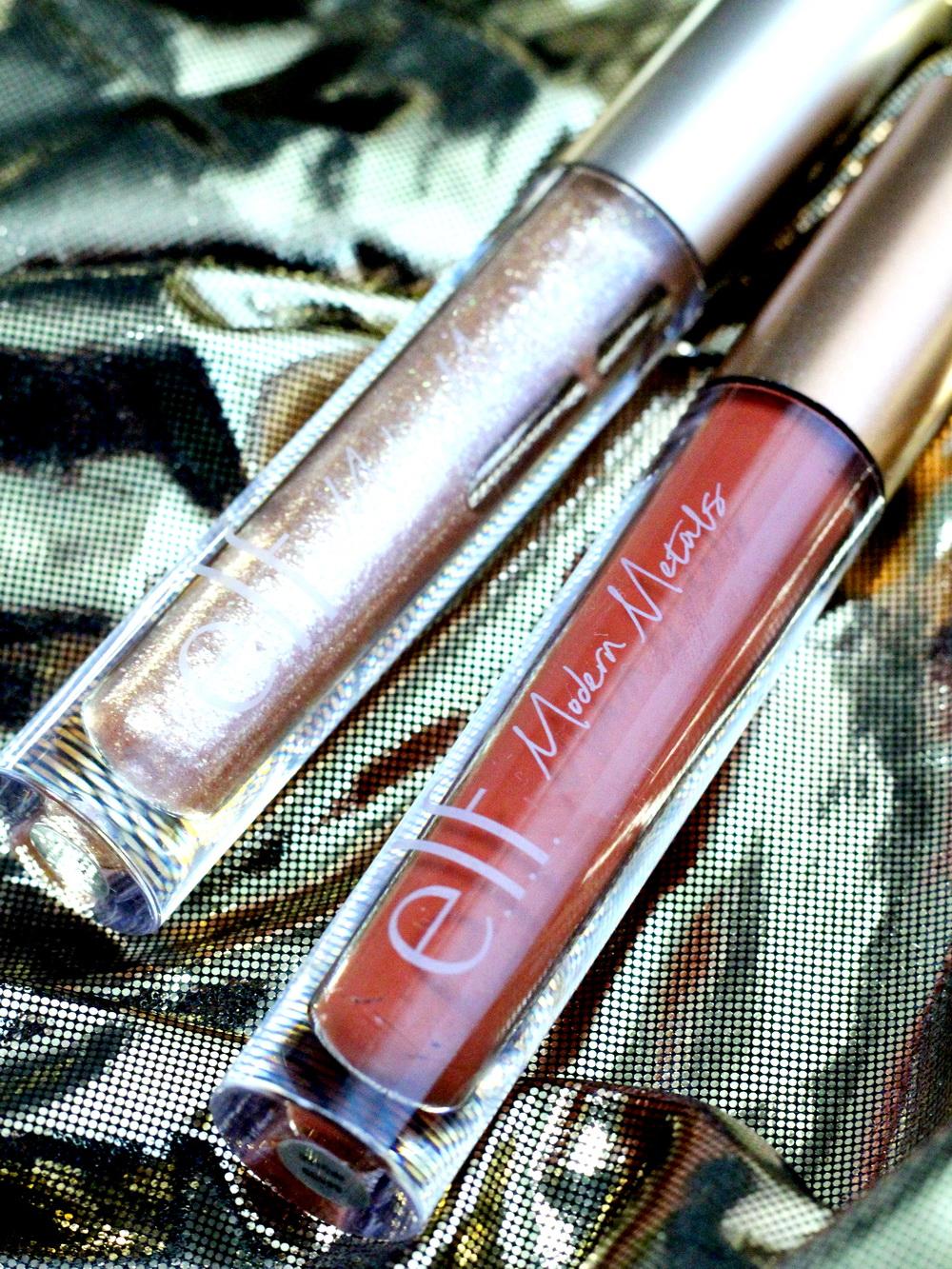elf modern metals lipstick