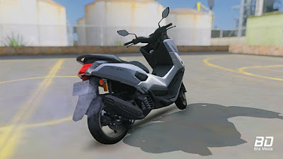 Download mod moto Yamaha Nmax 2018 para GTA San Andreas, GTA SA PC