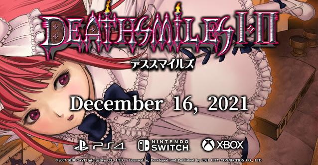 Deathsmiles I & II ganha data de lançamento para Switch no Japão