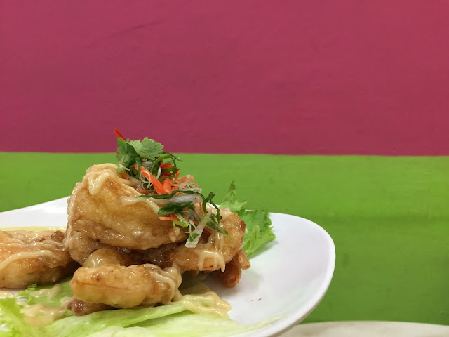 Restoran Tong Sheng (东升园海鲜家) - Horlick Prawn Balls