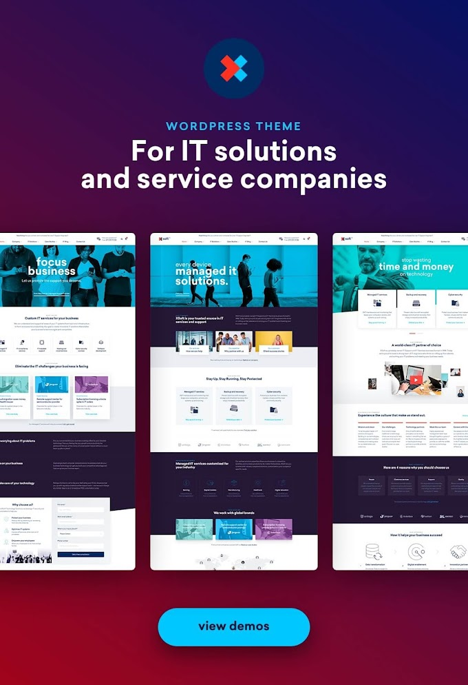 Nanosoft - WP Theme for IT Solutions and Services Company Review