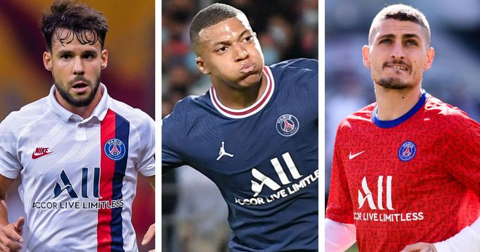 Mbappe tops PSG injury list ahead of league 1 game
