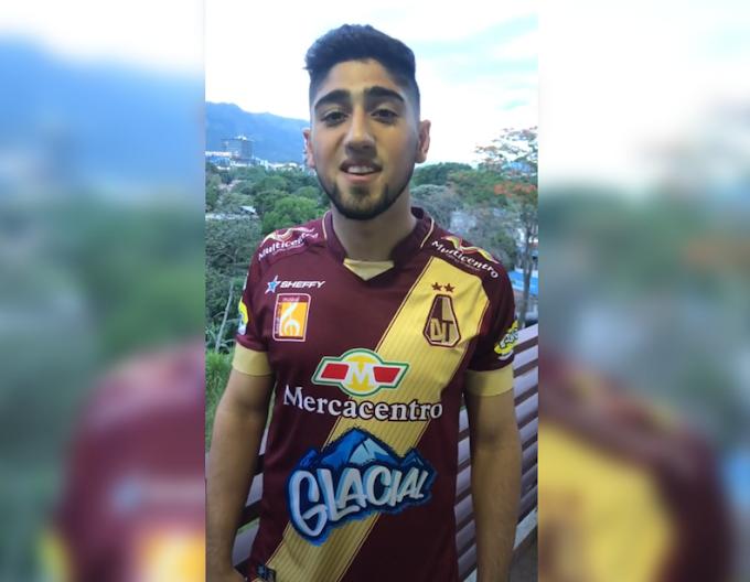 Guido Vadalá, listo para retornar a entrenamientos con DEPORTES TOLIMA