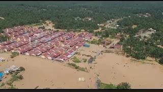 Curah Hujan Tinggi, Ratusan Rumah di Labura Terendam Banjir