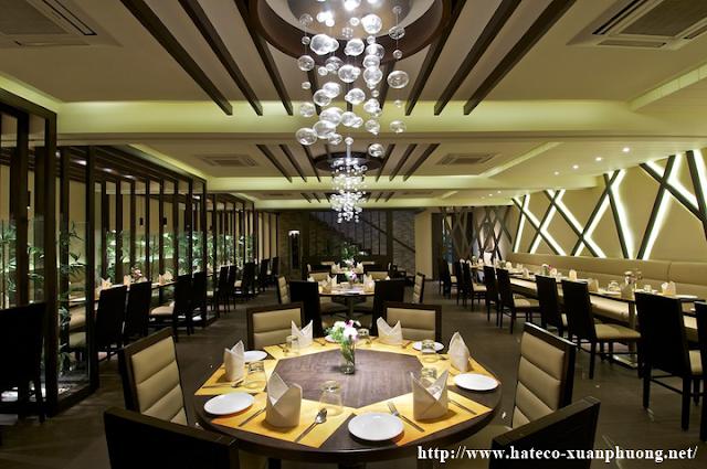 Nhà hàng ẩm thực sang trọng tại Xuân Phương Hateco