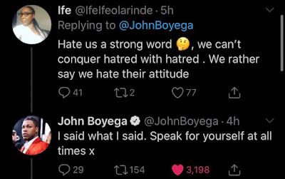 john boyega racism