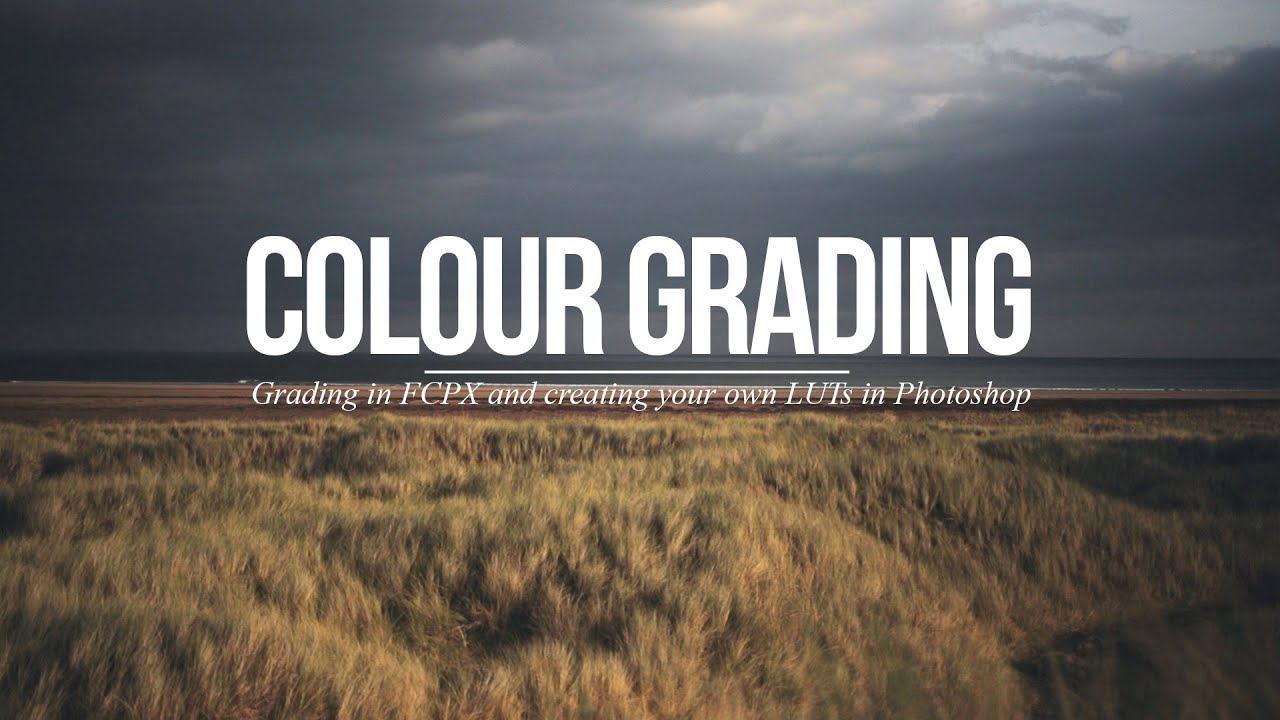 how to color grade in final cut pro