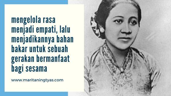 belajar mengelola rasa dari Kartini