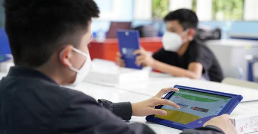 MINEDU está atendiendo y superando observaciones sobre tablets