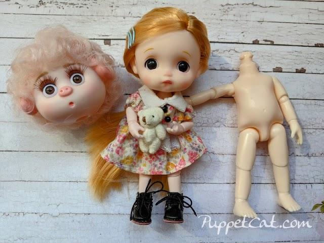 Гибрид куклы Баболи на теле DODO