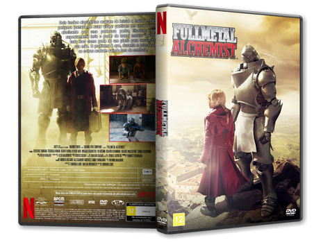 Capa DVD Fullmetal Alchemist
