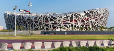 BEIJING NATIONAL STADIUM ( THE BIRD'S NEST)