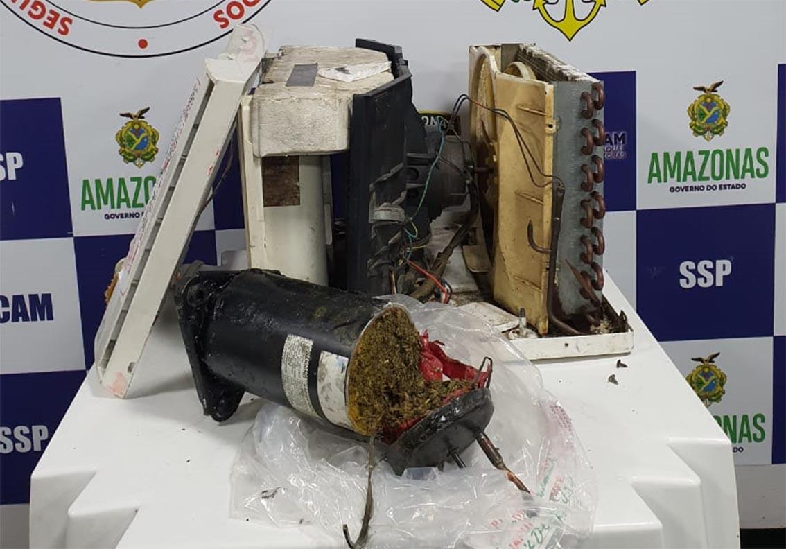 Polícia Militar apreende drogas em embarcação de passageiros no rio Solimões