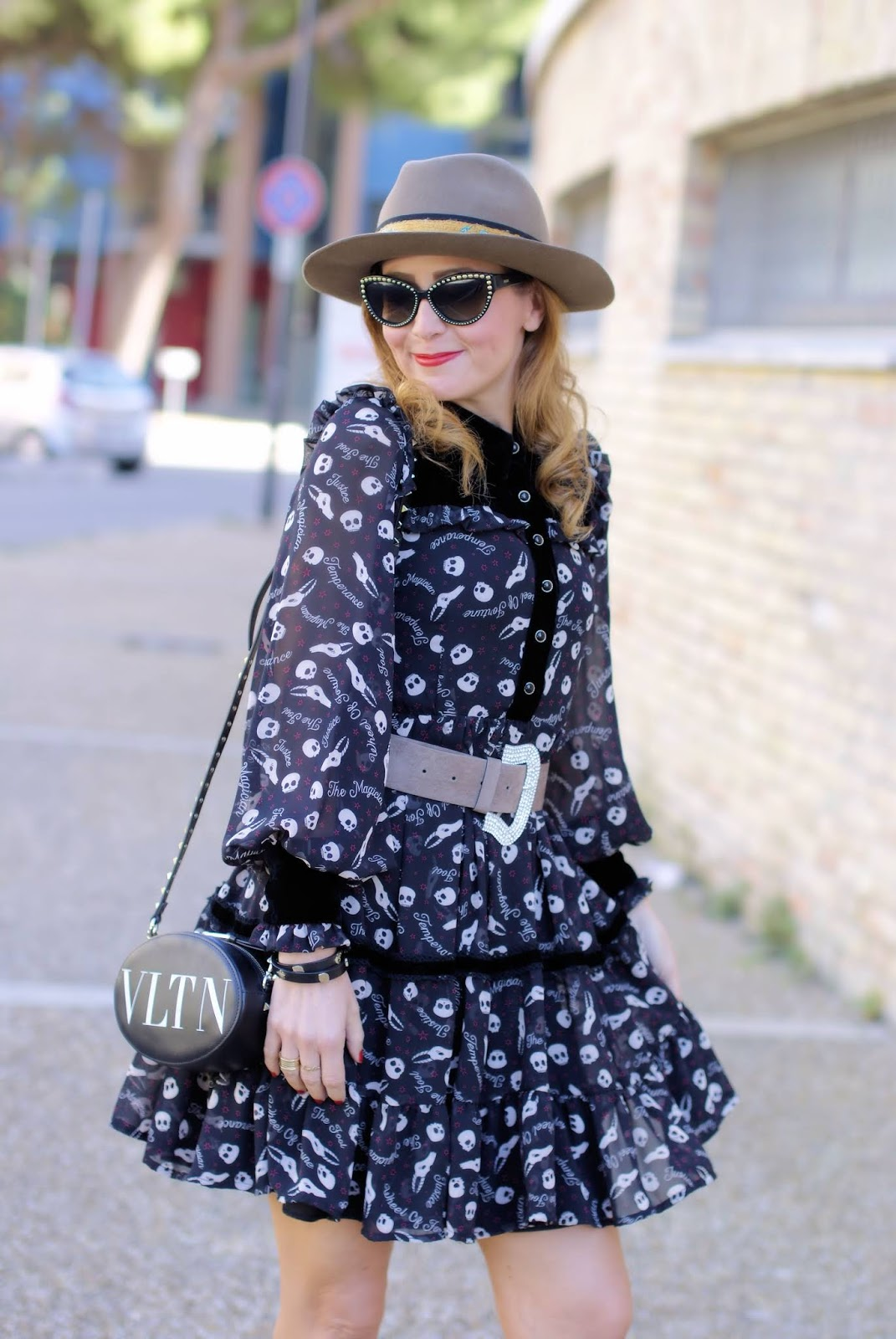 Best Halloween outfit with Maggie Sweet on Fashion and Cookies fashion blog, fashion blogger style