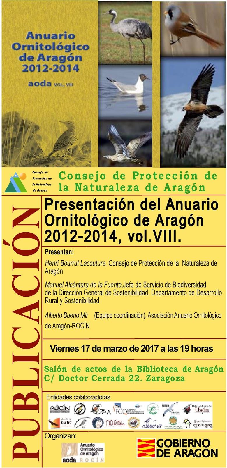 Anuario Ornitológico de Aragón-AODA: febrero 2017