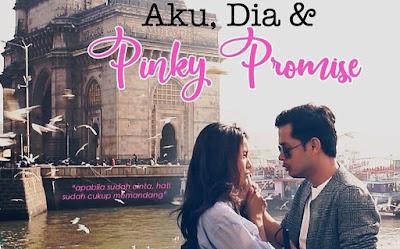 Sinopsis Drama Aku, Dia dan Pinky Promise Lakonan Sweet Qismina & Syafie Naswip