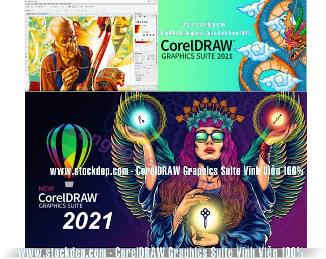 Download CorelDRAW Graphics Suite Mới Nhất 2021 v23.1 dùng vĩnh viễn 100% Link Google Drive