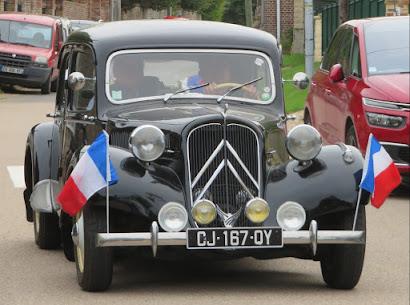 photo commémoration libération corny 27 eure