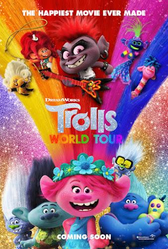 Trolls World Tour (BRRip 720p Dual Latino / Ingles) (2020)